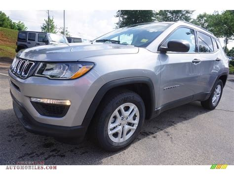jeep compass sport 2017 black 2017 jeep compass sport in billet silver metallic 636444