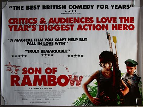 Son Of Rambow 2007 Film Son Of Rambow Modern Film Posters Original Poster
