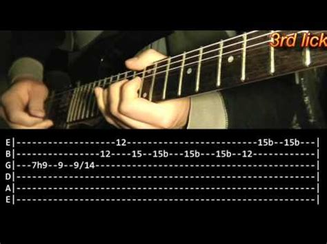 tutorial guitar buried alive how to play buried alive by avenged sevenfold guitar