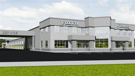 advantage truck center  building   million facility nearby volvo trucks north america