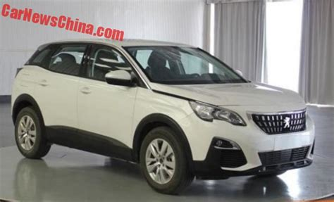peugeot china this is the peugeot 4008 for china carnewschina com