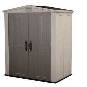 keter factor 6x3 plastic storage shed 213040 on sale now