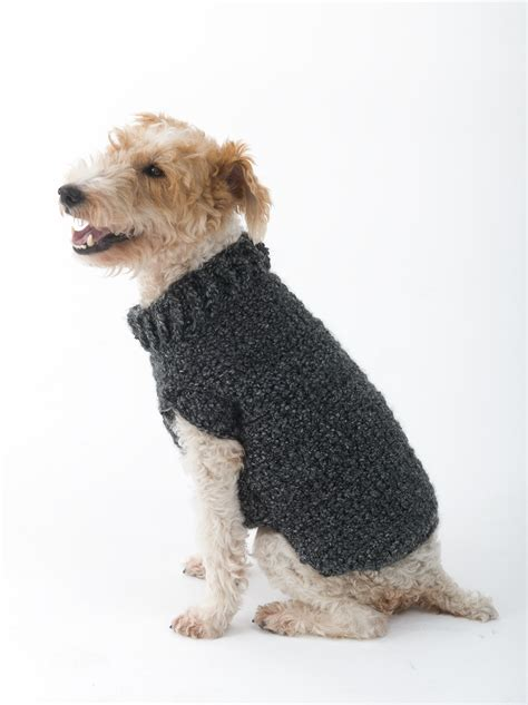 free crochet pattern for a dog coat free crochet dog sweater patterns for small dogs crochet