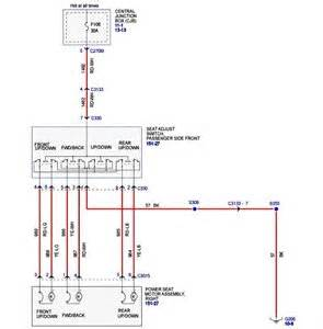ford driver power seat wiring diagram solved fixya
