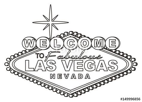 Credit Template Vegas quot las vegas casino america usa illustration