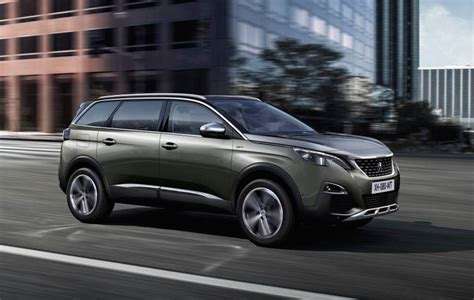 new peugeot 5008 revealed 7 seater mid 2017 for