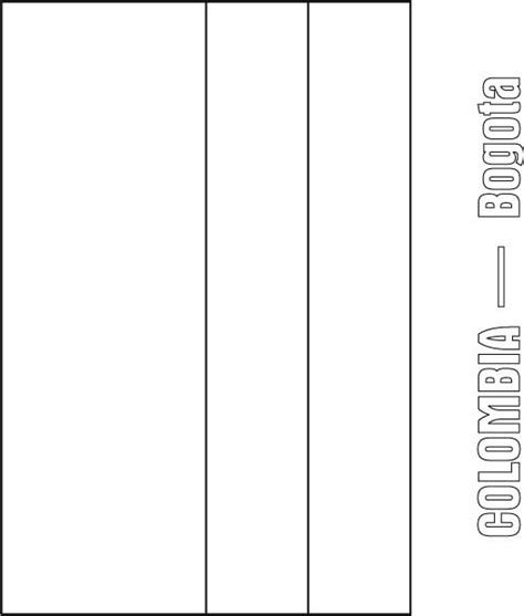 Columbia Flag Coloring Page Colombia Flag Coloring Page Download Free Colombia Flag by Columbia Flag Coloring Page