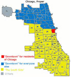 Chicago Crime Map By Neighborhood by Chicago Neighborhood Map Simplified Tom Flickr