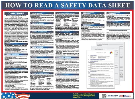 osha sds template new safety data sheet gallery