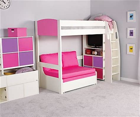 couch beds for girls uno s highsleeper bed col headboards sofa bed by stompa