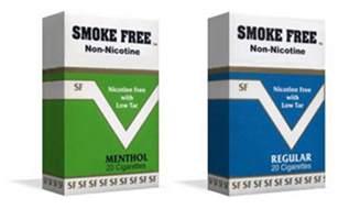Nicotine free cigarettes a good idea quit smoking