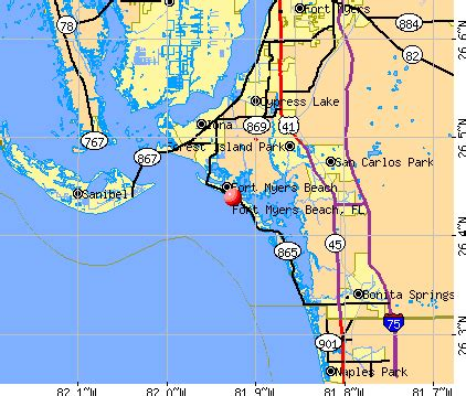 map of florida fort myers fort myers fl map maps fort myers