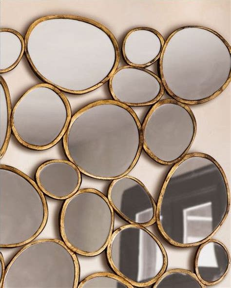mirror shapes pebble shaped mirrors beautiful things pinterest