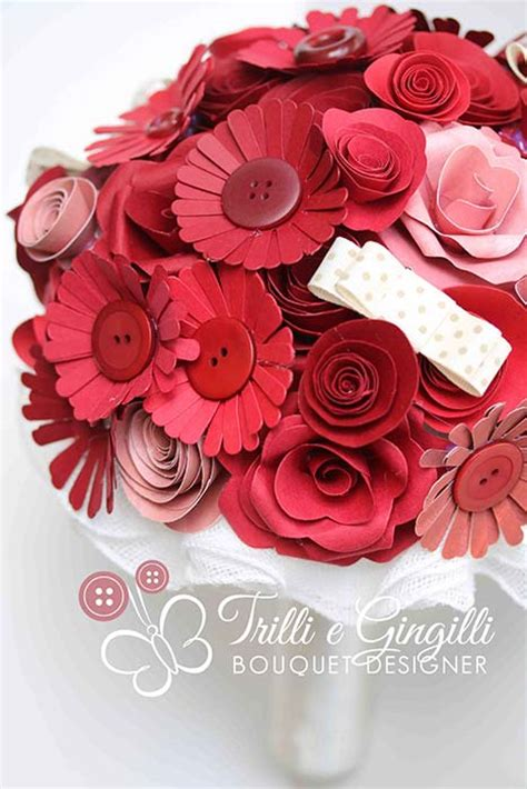 bouquet fiori carta bouquet con fiori di carta ecco i pi 249 belli e originali