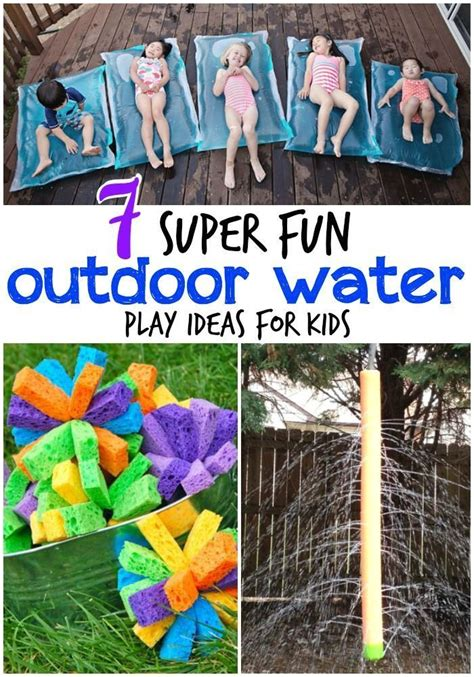 Top 7 Water Activities For Summer by 170 Best Summer Sensory Activities Images On