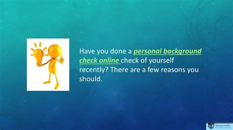 personal background check ppt personal background check powerpoint