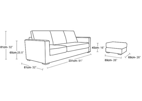 ottoman size average sofa size average sofa size mesmerizing sofa