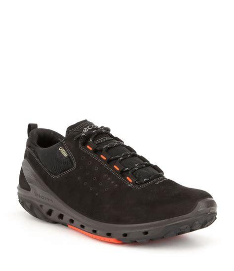 ecco men s hiking shoes biom venture mid ecco men s biom venture gtx waterproof sneakers dillards