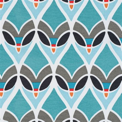 upholstery patterns montauk outdoor fabric in turquoise art print pattern