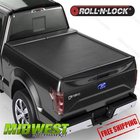 roll n lock bed cover roll n lock m series tonneau cover fits 2008 2016 ford