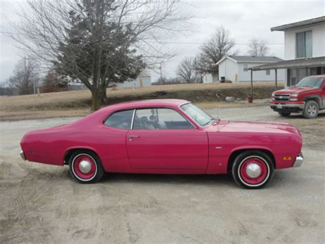 plymouth panther 1970 plymouth duster panther pink base 3 2l used