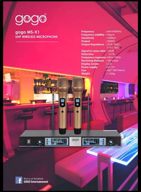 gogo full set karaoke system sportsville