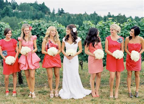different color bridesmaid dresses angee s eventions april 2013