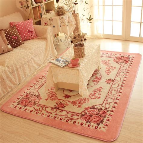 pink rugs for bedroom 150x200cm big carpets for living room pink flower bedroom rugs and carpets faleri velvet coffee