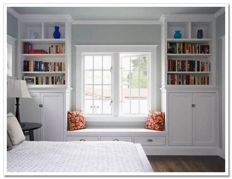 california closet bookcase and window seat pinteres