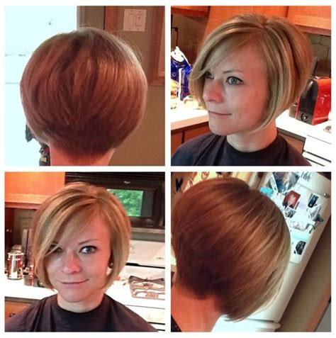 short stack cut in the nap of the back back would look cute on wife hairstyles for my wife