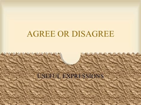 cd agree agree or disagree