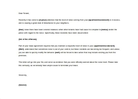 word complaint letter templates    premium templates