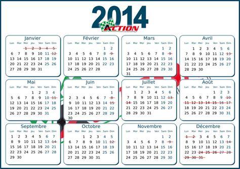 Calendrier Team 2014 07 01 2014 Karting Annonce 329 Jours D Ouverture