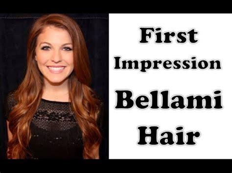 first impression bellami jet black hair extensions youtube bellami hair first impression hair extensions youtube