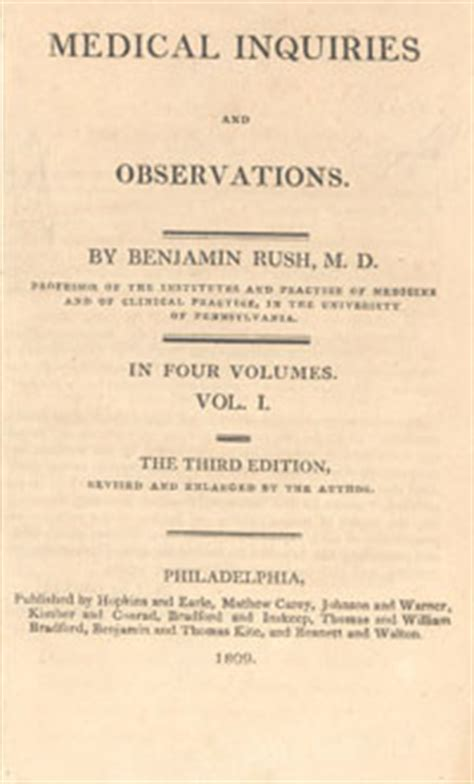 inquiries and observations upon the diseases of the mind classic reprint books s