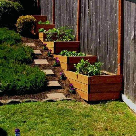 Small Sloped Backyard Ideas How To Landscape A Sloped Backyard Landscaping Ideas Small Sloped Yard Your Sloped Backyard