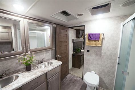 fifth wheel with 2 bathrooms 2017 open range 3x 397fbs front bathroom fifth wheel