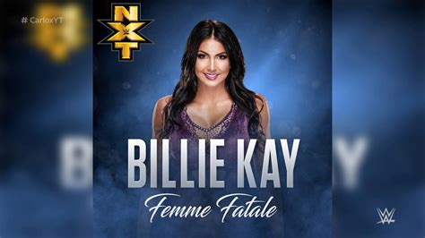 wwe themes names wwe femme fatale billie kay new official theme