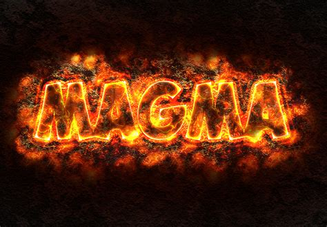 Texture Wall by How To Create A Magma Or Lava Text Effect In Photoshop