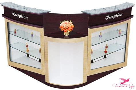 Nail Salon Reception Desk Uw Tension Ny Reception Desk 90 522 Pedicurespa Us