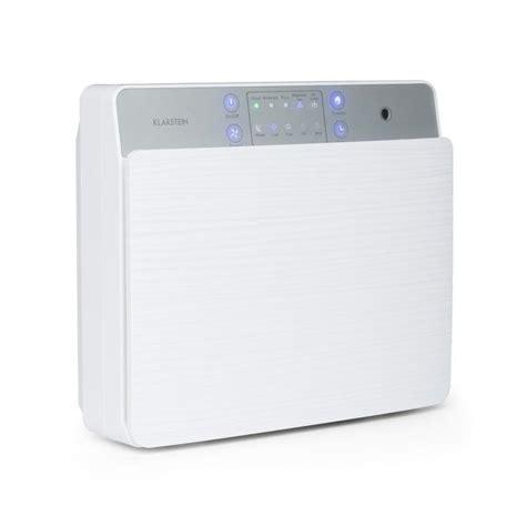 dalmatien air cleaner air purifier ionizer uv l white klarstein