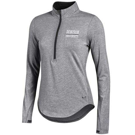 Jual Armour Charged Cotton denison womens armour smu charged cotton 1 4 zip true grey black