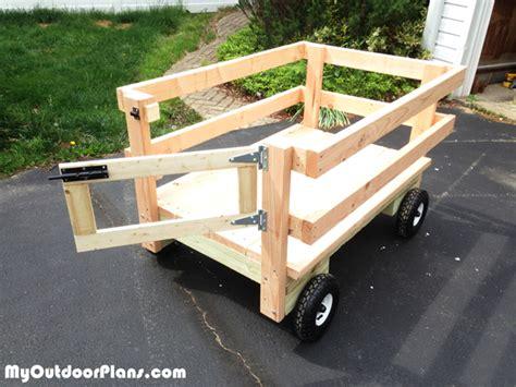 diy wagon   riding mower myoutdoorplans