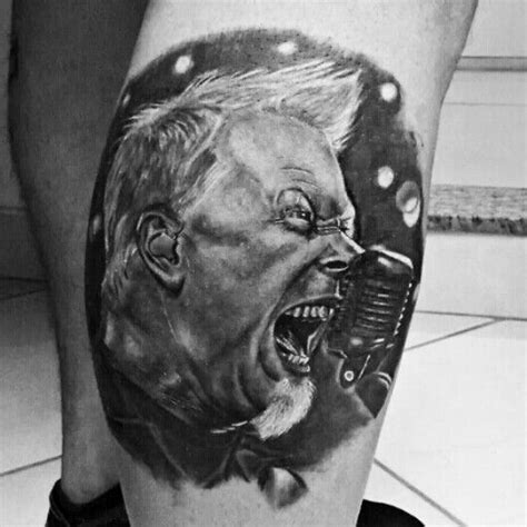 james hetfield tattoos ilario tatuagem metallica hetfield misterio