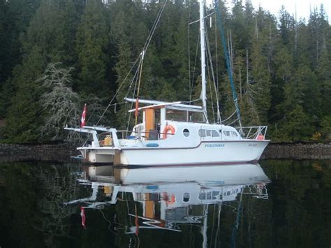 catamarans for sale vancouver bc 1977 catalac 9m will i die sailnet community