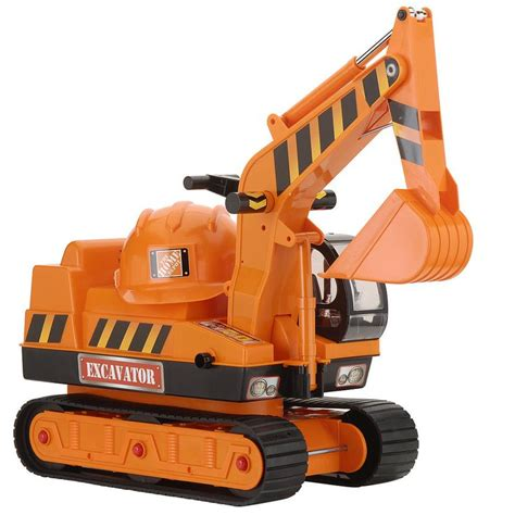 the home depot ride on excavator to play