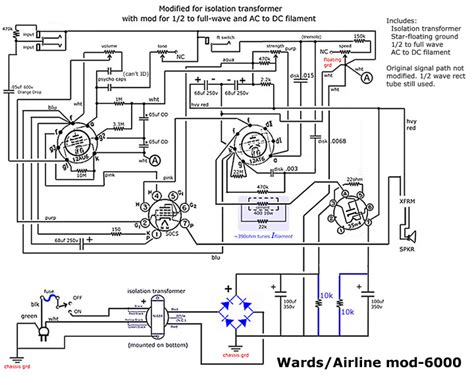 airline guitar wiring diagram wiring diagram with