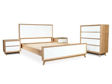 oak and white gloss bedroom furniture felix scandinavian white gloss w oak tallboy bedroom set
