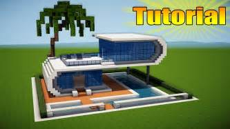 minecraft modern house tutorial how to build a