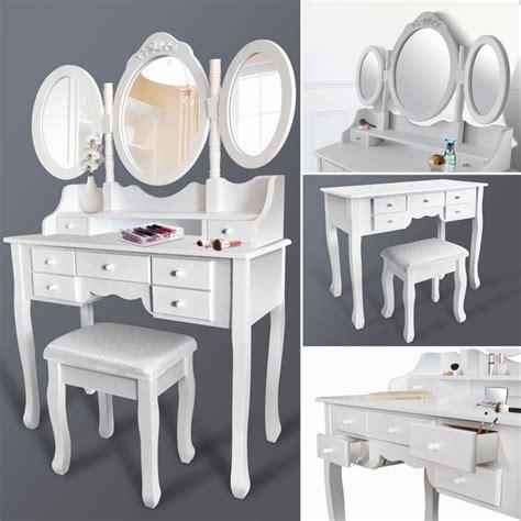 Coiffeuse Miroir Tabouret by Coiffeuse 3 Miroirs Et Tabouret